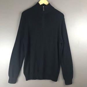 ❌Sold❌J. Crew Slim Cashmere Blend Half Zip Sweater